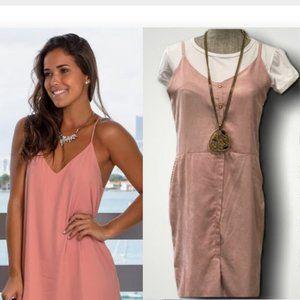 🍄2/$30🍄 Pink tank Dress with T-shirt Medium